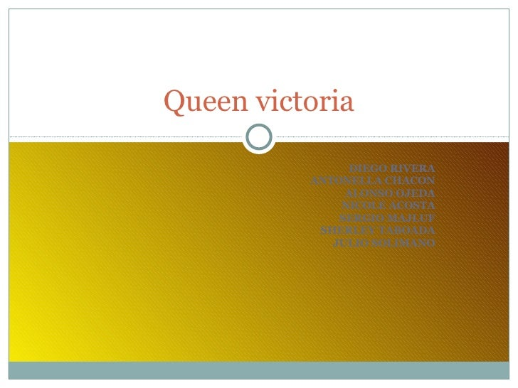 DIEGO RIVERA ANTONELLA CHACON ALONSO OJEDA NICOLE ACOSTA SERGIO MAJLUF SHERLEY TABOADA JULIO SOLIMANO Queen victoria