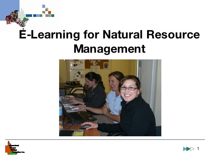 E-Learning for Natural Resource Management