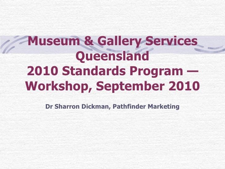 Dr Sharron Dickman, Pathfinder Marketing - ppt presentation