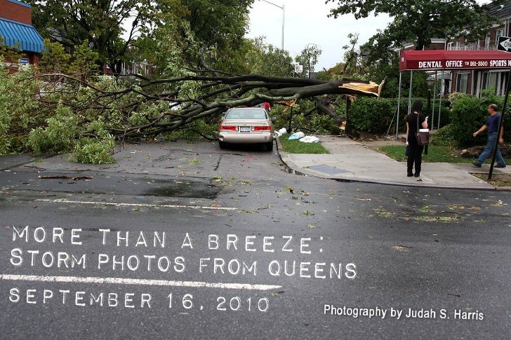 PHOTO ESSAY - More Than a Breeze:  Storm Photos from Queens, NY