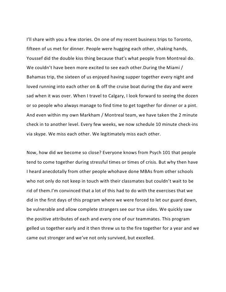 Graduation speech essay