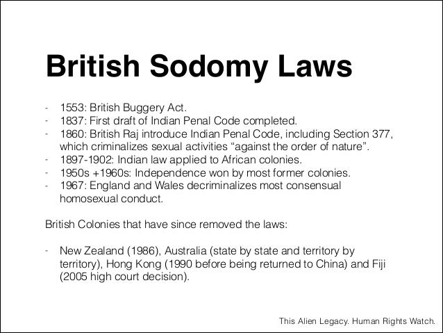 article we colonials sodomy laws america