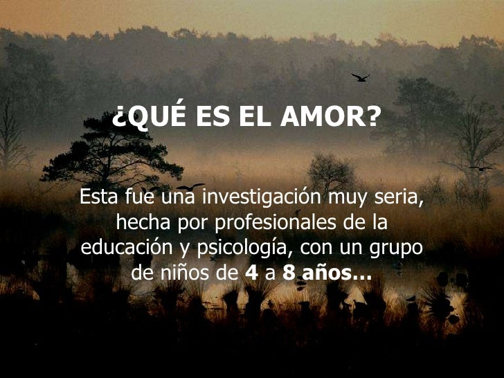 Que es el_amor