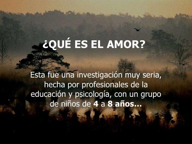 Que Es El Amor[1]