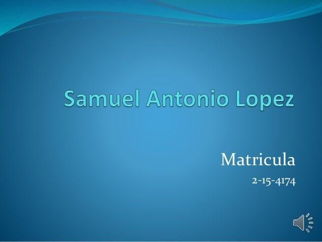 Matricula 2-15-4174