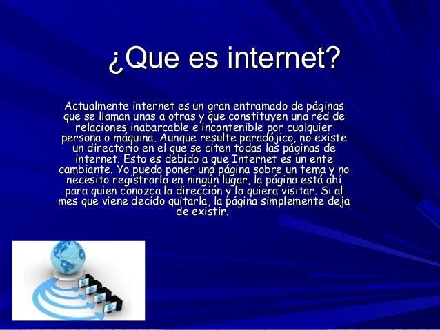 Que es internet / Empresa de perforación de petróleo