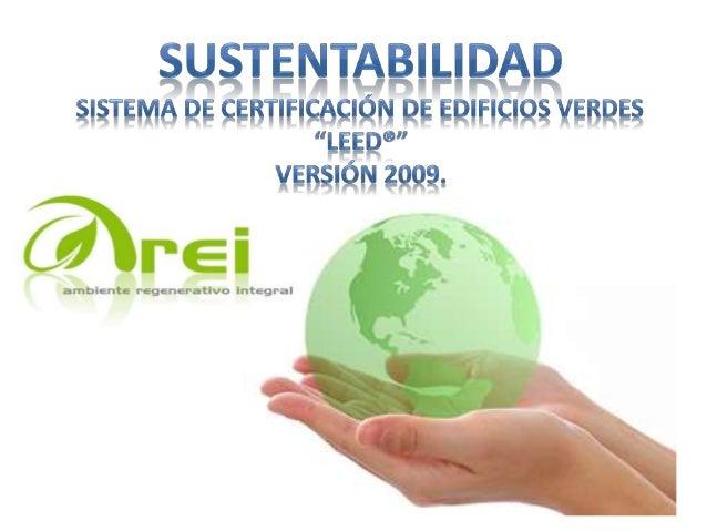 LEED Liderazgo en Energía y Diseño Ambiental