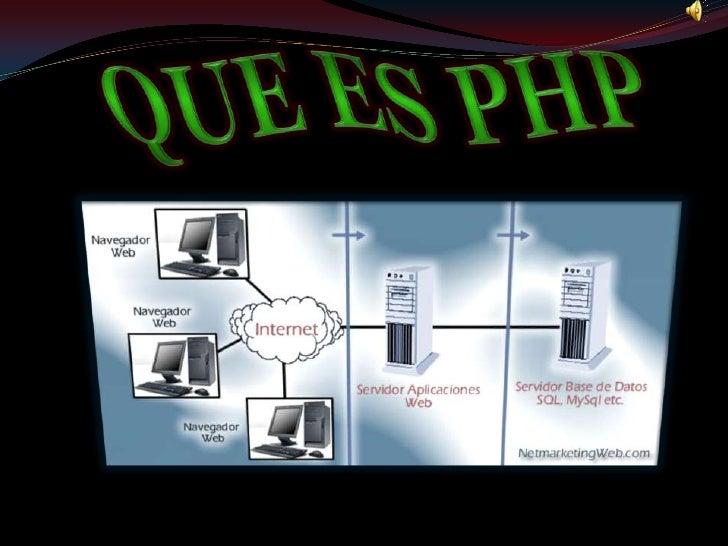QUE ES PHP <br />