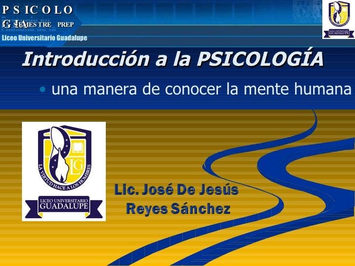 Que Es Psicologia liceo
