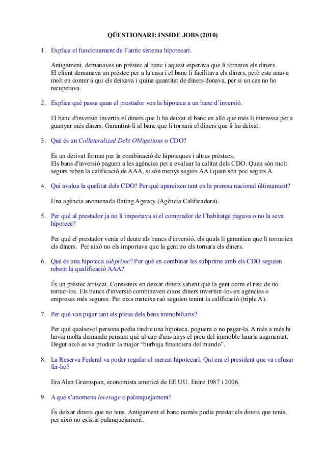 Queestionari inside jobs (1)