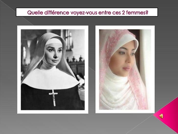 Quelle différence voyez-vous entre ces 2 femmes? <br />
