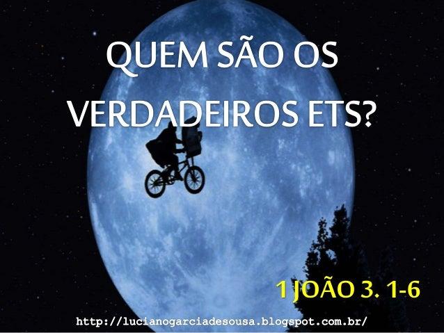 1 JOÃO 3. 1-6