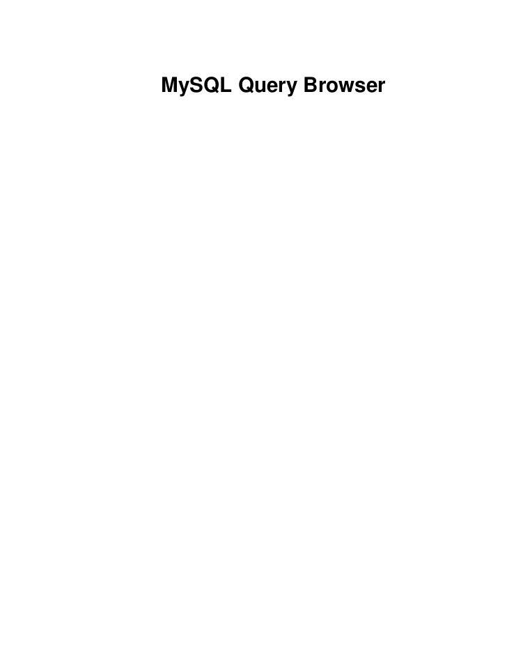Query browser-es