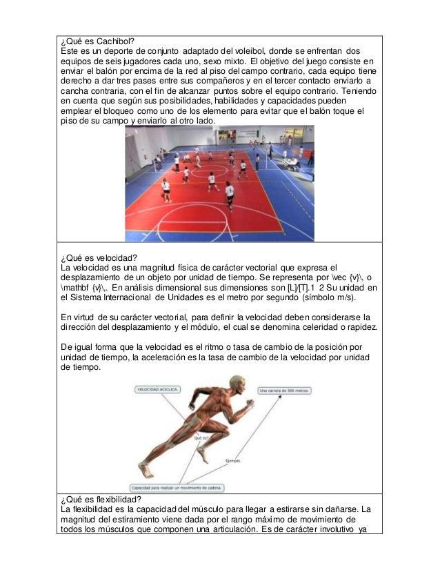 ¿Qué es Cachibol? Este es un deporte de conjunto adaptado del voleibol, donde se enfrentan dos equipos de seis jugadores c...