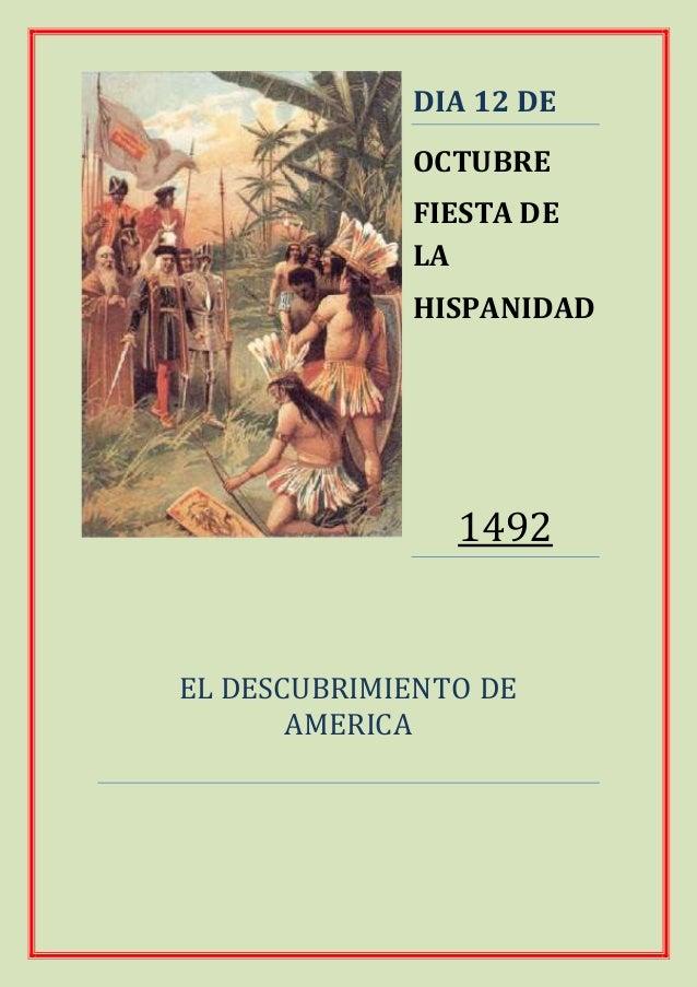 Que se celebra el dia 12 de octubre