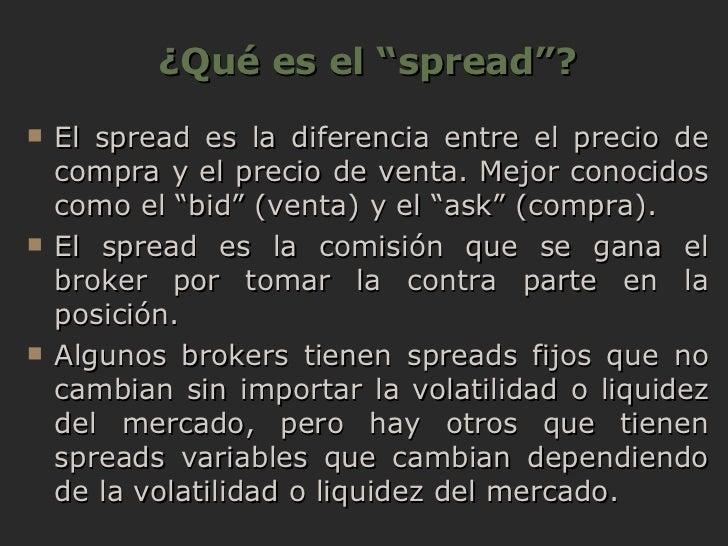 Que es un spread forex