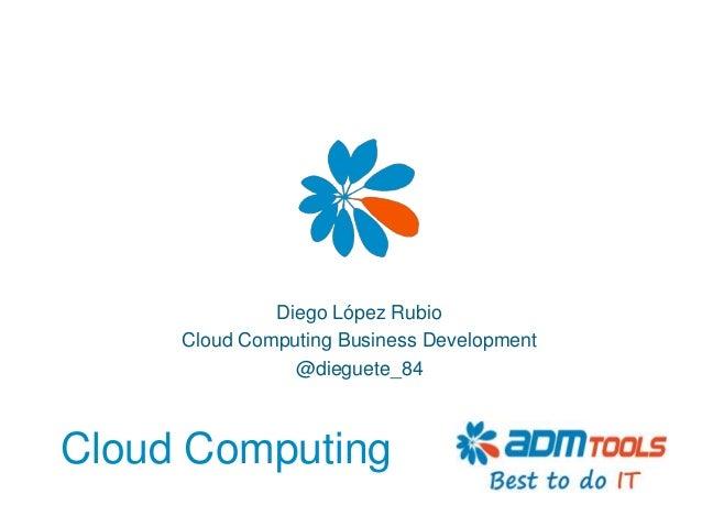 ElectroWeek '13 - Qué es el cloud computing
