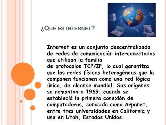 ¿Qué es internet? Lautaro Ciancio