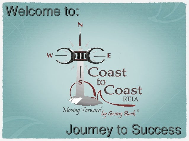 Welcome to:  ©  Journey to Success