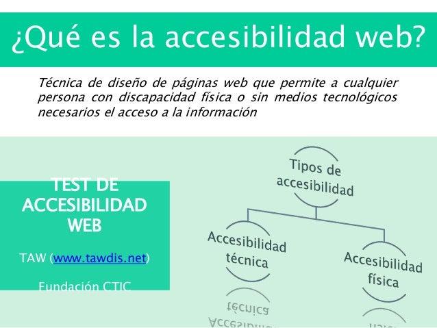 Qu es la accesibilidad web for Que es accesibilidad