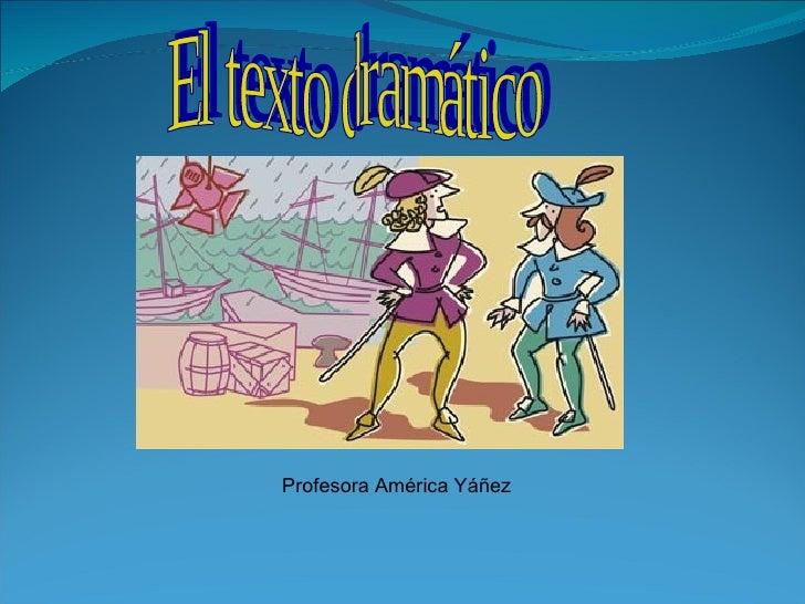 Profesora América Yáñez