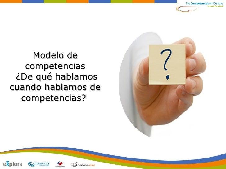 Modelo de Competencias en TCC M