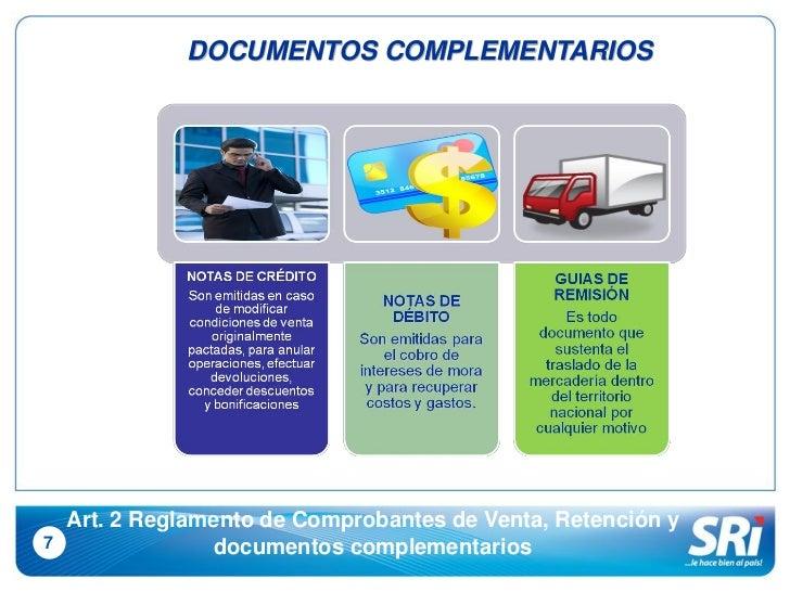 COMPROBANTES DE VENTAS RETENCION Y DOCUMENTACION