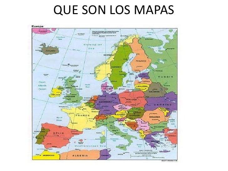 Que son los mapas