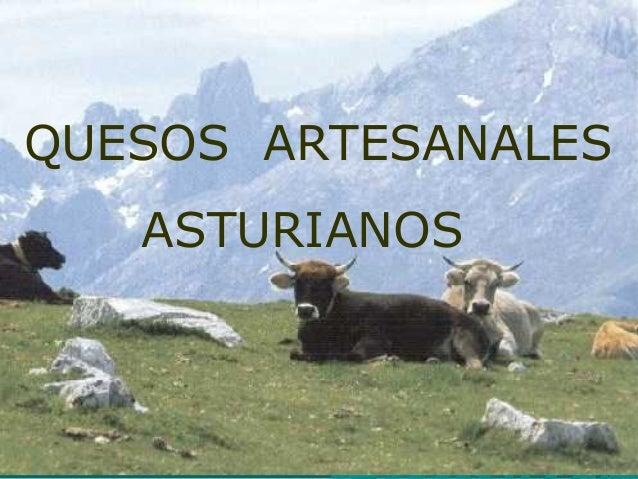 QUESOS ARTESANALES ASTURIANOS