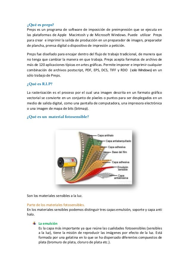 ¿Qué es preps? Preps es un programa de software de imposición de preimpresión que se ejecuta en las plataformas de Apple M...