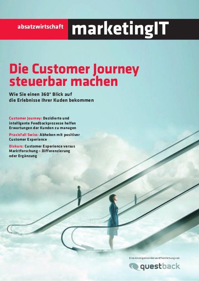 absatzwirtschaft  Die Customer Journey  steuerbar machen  Wie Sie einen 360° Blick auf die Erlebnisse Ihrer Kuden bekommen...