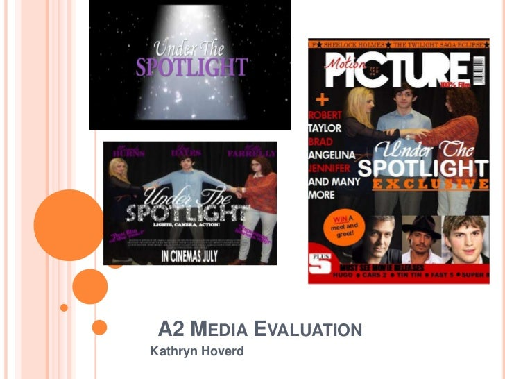 A2 MEDIA EVALUATIONKathryn Hoverd