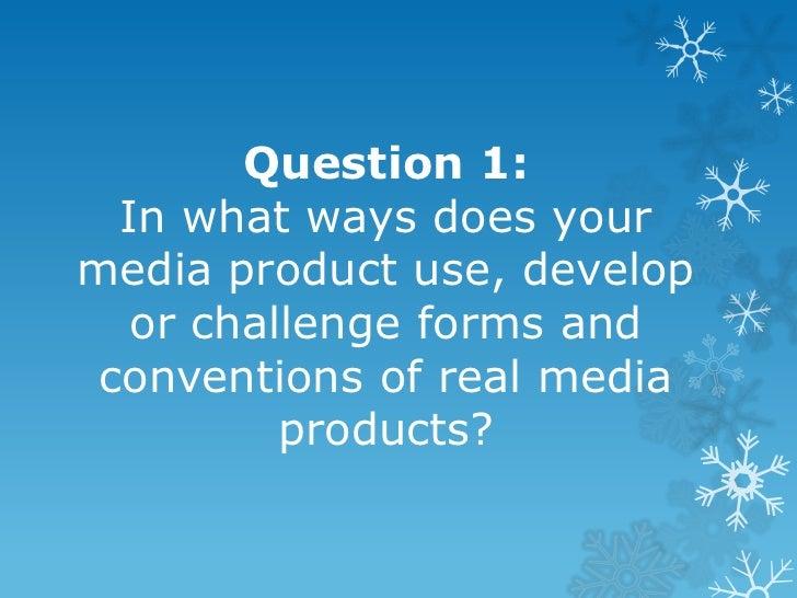 Question 1   media