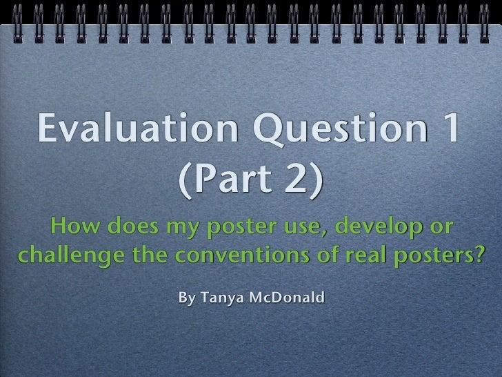 A2 Media Studies Evaluation - Question 1 (Magazine cover) - Part 2