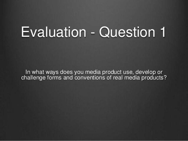 Question 1 presenation