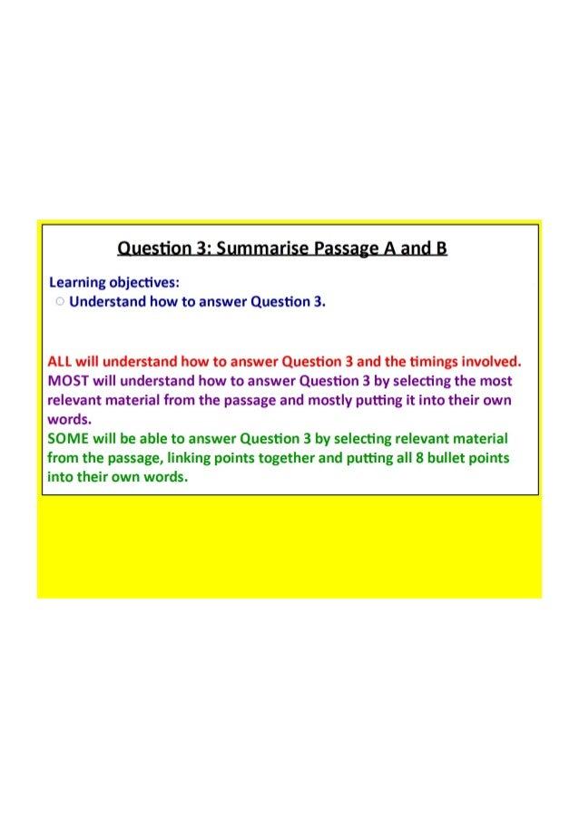 Question 3 Amazing Oceans