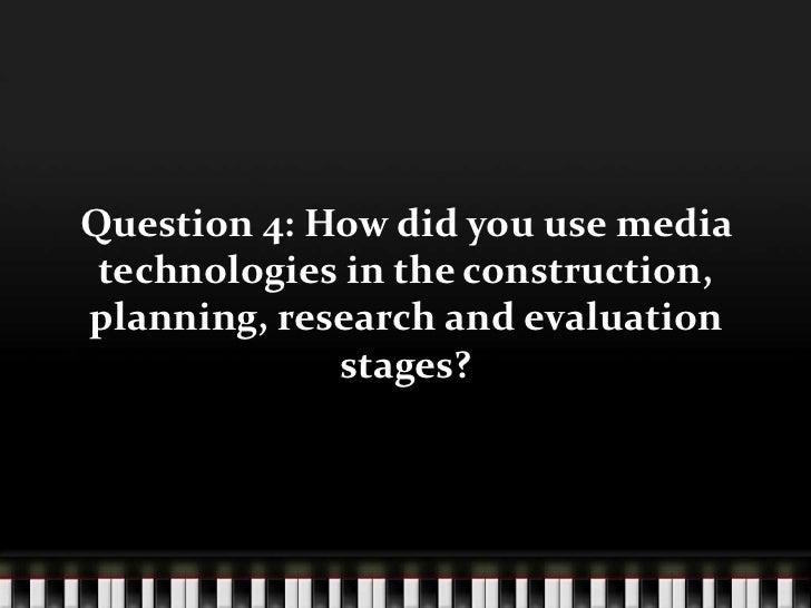 Blog Evaluation Question 4