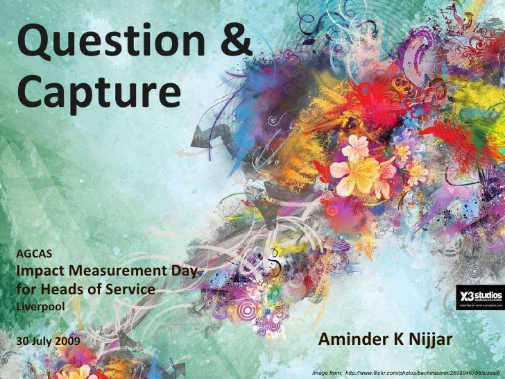 Question & Capture By Aminder Nijjar   Impact Measures Day For Heads Of Service 07.09