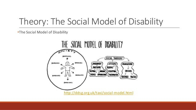 the social model of disability Under the social model, disability is framed as a social construct created by barriers which can be changed and eliminated, providing a dynamic and positive model which identifies the causes of exclusion and inequality and proposes a solution.