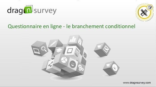 Questionnaire en ligne - le branchement conditionnel