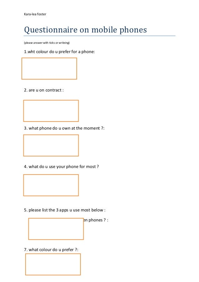 consumer behavior questionaire on nokia mobiles phones The current international consensus is that mobile phones don't cause cancer or promote the accelerated growth of existing tumours cancer can take many years, even.