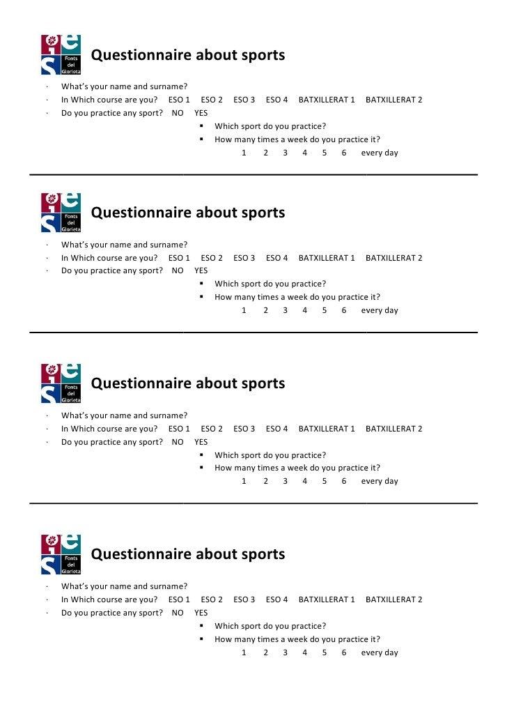 Questionnaire students