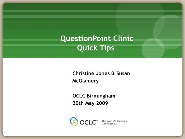 Question Point Clinic 200509