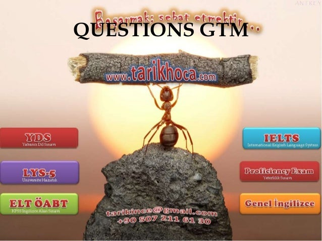 QUESTIONS GTM