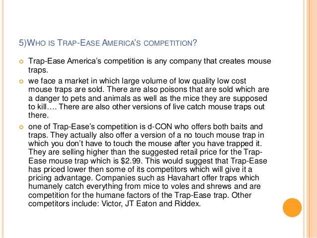 trap ease america essay