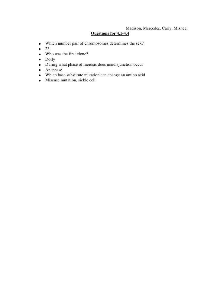 Questions 4 1