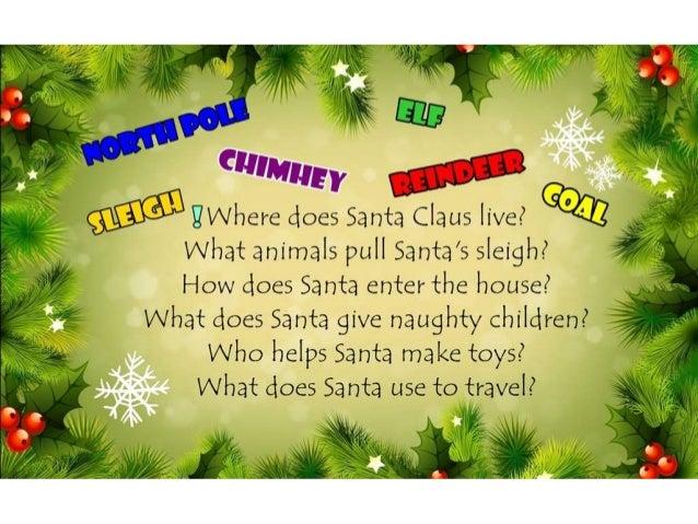 Questions about Santa