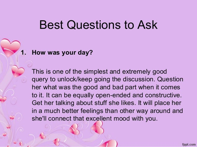 Good questions to ask a girl online dating