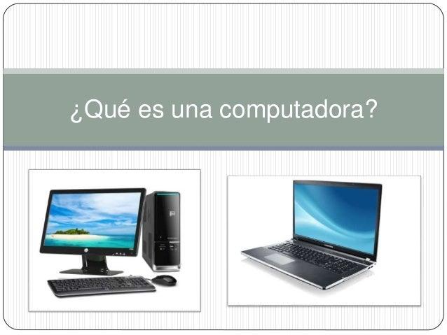 qu es una computadora