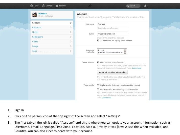 "<ul><li>Sign In </li></ul><ul><li>Click on the person icon at the top right of the screen and select ""settings"" </li></ul>..."